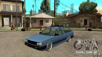 VW Fox 1989 v.2.0 para GTA San Andreas