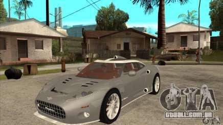 Spyker C8 Aileron para GTA San Andreas