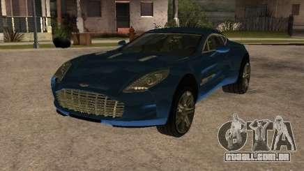 Aston Martin One77 para GTA San Andreas