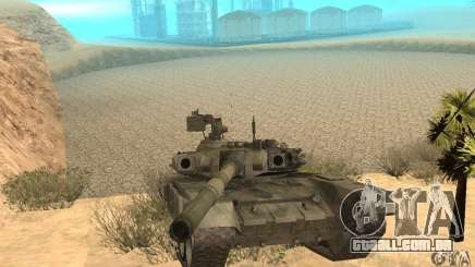 "Tanque t-90 ""Vladimir"" para GTA San Andreas"