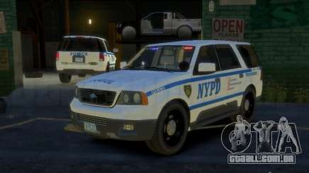 Ford Expedition Truck Enforcement para GTA 4