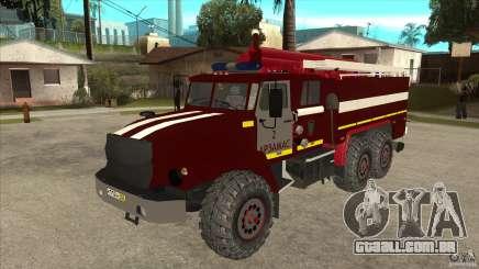 Bombeiro 43206 Ural para GTA San Andreas