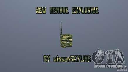 O novo explosivo para GTA San Andreas