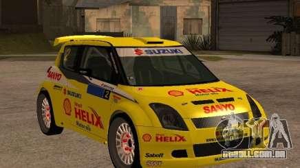 Suzuki Swift Rally para GTA San Andreas