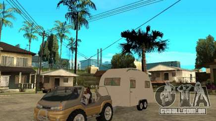 Ford Intruder 4x4 Concept + Caravan para GTA San Andreas