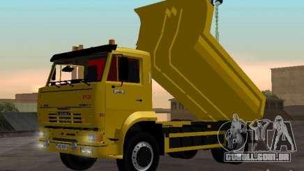 KAMAZ 53605 TAI versão 1.1 para GTA San Andreas