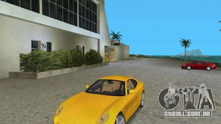 Ferrari 612 Scaglietti жёлтый para GTA Vice City