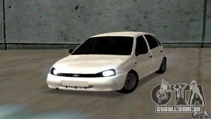 Lada Kalina Hatchback Stock para GTA San Andreas