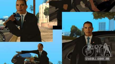 Barack Obama no Gta para GTA San Andreas