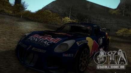 Pontiac Solstice Redbull Drift v2 para GTA San Andreas