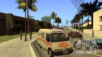 GÁS 22172 ambulância para GTA San Andreas