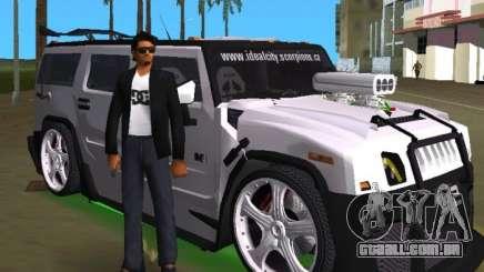 AMG Hummer H2 Hard Tuning v2 para GTA Vice City