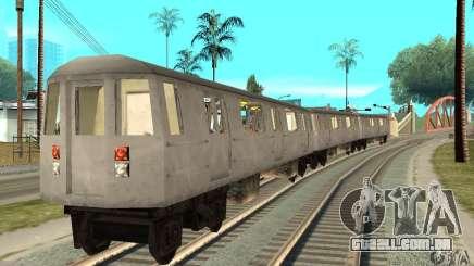 Liberty City Train GTA3 para GTA San Andreas
