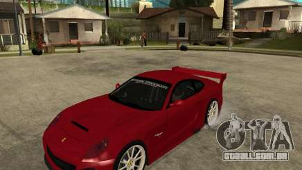 Ferrari 612 Scaglietti GTS LaMans TUNING para GTA San Andreas