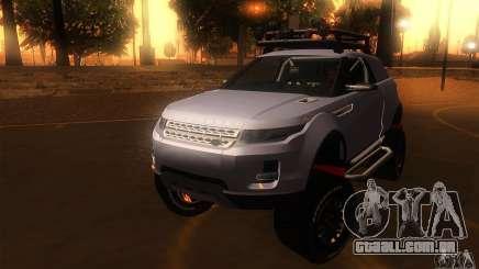 Land Rover Evoque para GTA San Andreas
