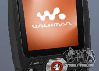 Sony Ericsson W880i para GTA San Andreas