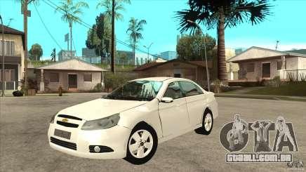 Chevrolet Epica 2008 para GTA San Andreas