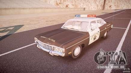 AMC Matador CHP [ELS] para GTA 4