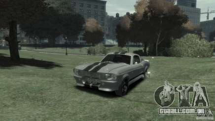 Ford Shelby GT500 Eleanor para GTA 4