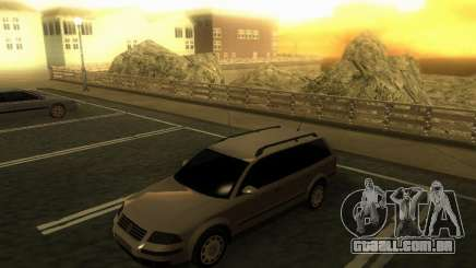 Vw Passat B5.5 Wagon 1.9 TDi para GTA San Andreas