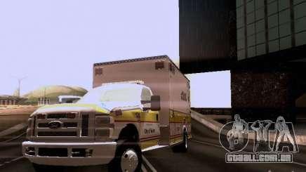 Ford F-350 Ambulance para GTA San Andreas