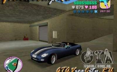 Dodge Viper de GTA 3 para GTA Vice City