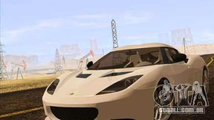 Lotus Evora para GTA San Andreas