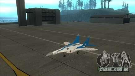 MiG-29 os andorinhões para GTA San Andreas
