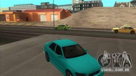 Lexus IS300 tuning para GTA San Andreas