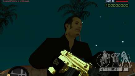 Tec 9 GOLD para GTA San Andreas