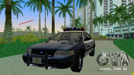 Ford Crown Victoria Police 2003 para GTA Vice City