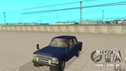 412 Moskvich com tuning para GTA San Andreas