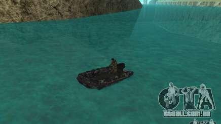 Barco inflável do Zodíaco para GTA San Andreas