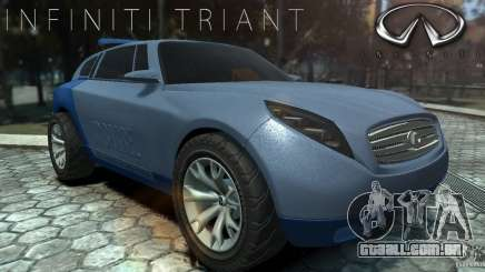 Infiniti Triant Concept para GTA 4