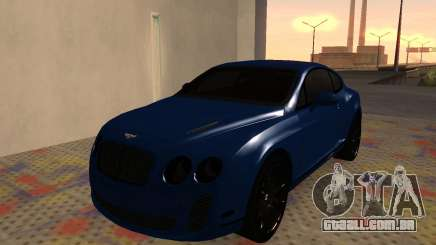 Bentley Continental Supersports para GTA San Andreas