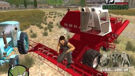 Combinar Niva SK-5 para GTA San Andreas