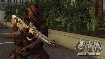 Tavor Tar-21 Camodesert para GTA San Andreas