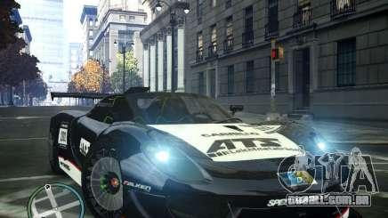 Porsche 918 Spider Body Kit Final para GTA 4