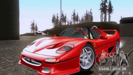 Ferrari F50 v1.0.0 1995 para GTA San Andreas