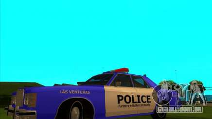 Ford Custom 500 4 door police 1975 para GTA San Andreas