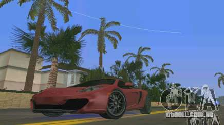 McLaren MP4-12C para GTA Vice City