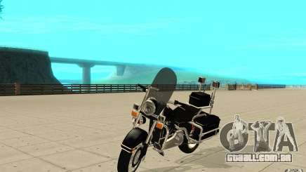GTAIV TBOGT PoliceBike para GTA San Andreas