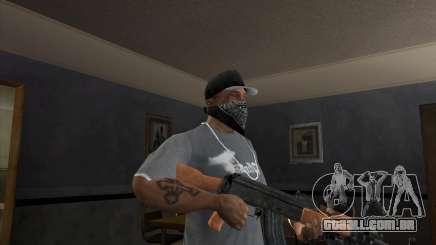AK-47 atualizado para GTA San Andreas