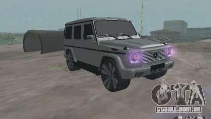 Mercedes-Benz G500 Kromma 1480 para GTA San Andreas