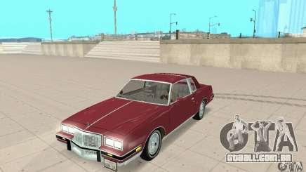 Pontiac Grand Prix 1985 para GTA San Andreas