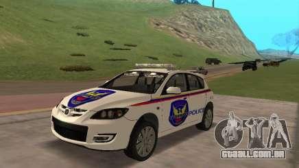 Mazda 3 Police para GTA San Andreas