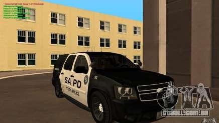 Chevrolet Tahoe SAPD para GTA San Andreas