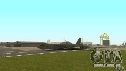Boeing B-52H Stratofortress para GTA San Andreas