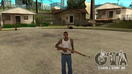 Armas da chamada do dever para GTA San Andreas
