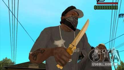 Faca do Príncipe para GTA San Andreas